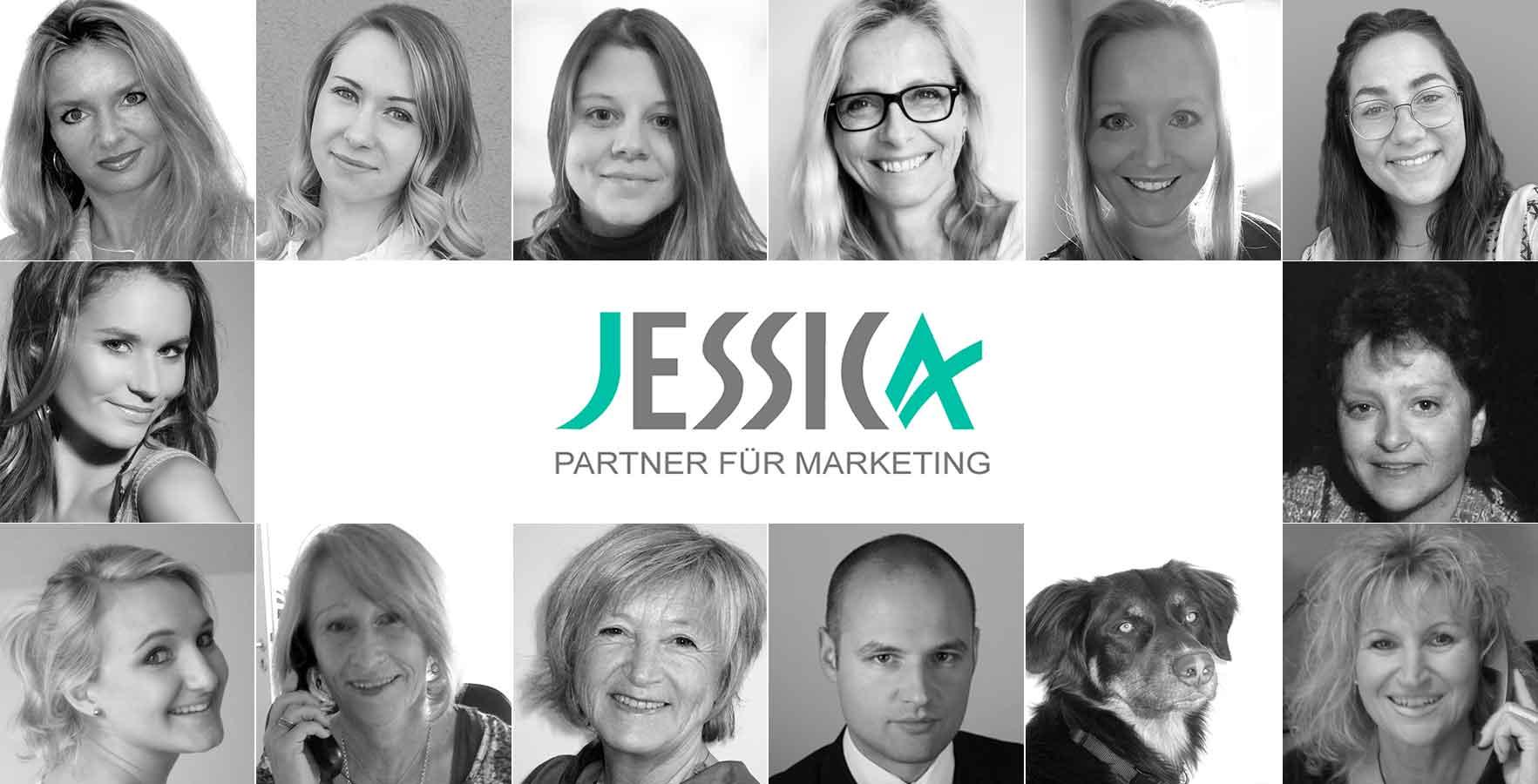 Ihr JESSICA Team für Telefonmarketing und CRM-Betreuung